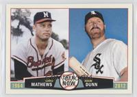 Adam Dunn, Eddie Mathews