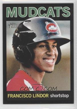 2013 Topps Heritage Minor League Edition - [Base] - Black #85 - Francisco Lindor /96
