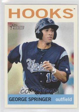 2013 Topps Heritage Minor League Edition - [Base] #225 - George Springer