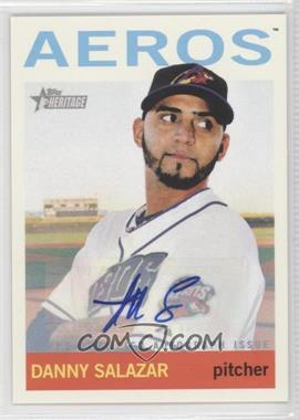2013 Topps Heritage Minor League Edition - Real One Autographs #ROA-DS - Danny Salazar