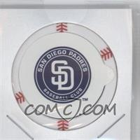 2013 Topps MLB Chipz - [Base] - Gold Team Logo Sticker #HUST - Huston Street