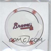 2013 Topps MLB Chipz - [Base] - Silver Team Logo Sticker #BJUP - B.J. Upton