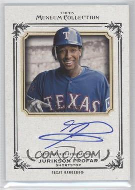 2013 Topps Museum Collection - Archival Autographs #AA-JPR - Jurickson Profar /399