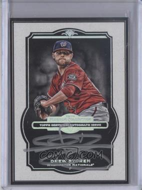2013 Topps Museum Collection - Framed Autographs - Black #MCA-DS - Drew Storen /5