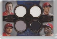 Jay Bruce, Shin-Soo Choo, Joey Votto, Brandon Phillips /75