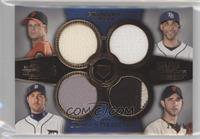 Matt Cain, David Price, Justin Verlander, Madison Bumgarner #/75