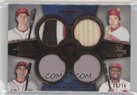 Jay Bruce, Johnny Bench, Joey Votto, Brandon Phillips /75