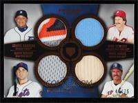Miguel Cabrera, Mike Schmidt, David Wright, Wade Boggs #/75