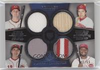 Jay Bruce, Johnny Bench, Joey Votto, Brandon Phillips /99