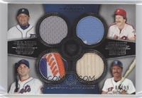 Miguel Cabrera, Mike Schmidt, David Wright, Wade Boggs #/99