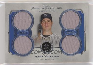 2013 Topps Museum Collection - Primary Pieces Quad Relics #PPQR-MTE - Mark Teixeira /99