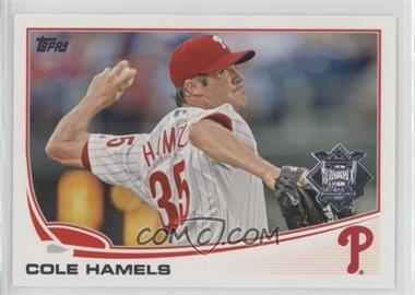 2013 Topps National League All Star Team - [Base] #NL-11 - Cole Hamels
