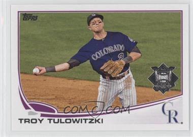 2013 Topps National League All Star Team - [Base] #NL-6 - Troy Tulowitzki