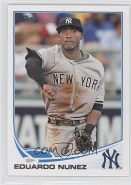 2013 Topps New York Yankees - [Base] #NYY-16 - Eduardo Nunez