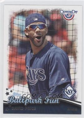 2013 Topps Opening Day - Ballpark Fun #BF-22 - David Price