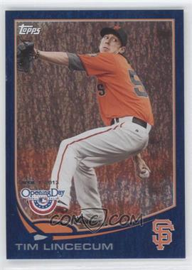 2013 Topps Opening Day - [Base] - Blue #104 - Tim Lincecum /2013