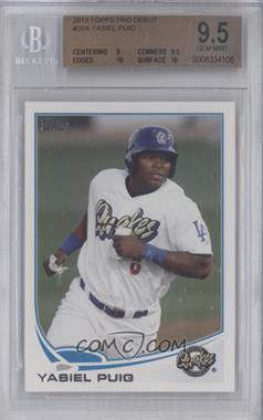 2013 Topps Pro Debut - [Base] #35 - Yasiel Puig [BGS 9.5 GEM MINT]