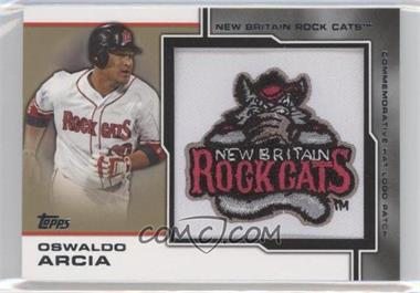 2013 Topps Pro Debut - Hat Logo Patch - Gold #MP-OA - Oswaldo Arcia /5