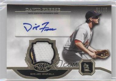 2013 Topps Tier One - Autographed Relics #TOAR-DF - David Freese /99