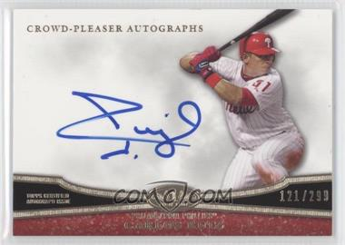 2013 Topps Tier One - Crowd-Pleaser Autographs #CPA-CR - Carlos Ruiz /299