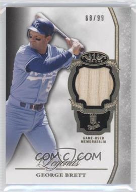 2013 Topps Tier One - Legends Relics #TORL-GB - George Brett /99