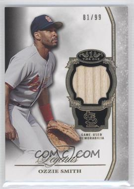 2013 Topps Tier One - Legends Relics #TORL-OS - Ozzie Smith /99