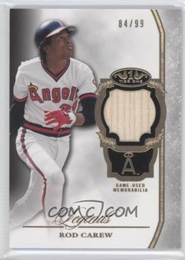 2013 Topps Tier One - Legends Relics #TORL-RC - Rod Carew /99