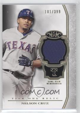 2013 Topps Tier One - Relics #TOR-NC - Nelson Cruz /399