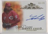 Johnny Cueto #/25