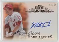 Mark Trumbo #/35