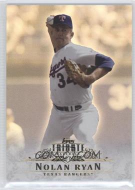 2013 Topps Tribute - [Base] #36 - Nolan Ryan