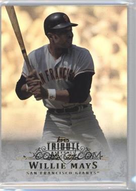 2013 Topps Tribute - [Base] #47 - Willie Mays