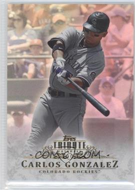 2013 Topps Tribute - [Base] #6 - Carlos Gonzalez