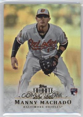 2013 Topps Tribute - [Base] #93 - Manny Machado