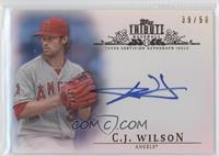 C.J. Wilson /50