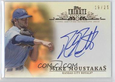 2013 Topps Tribute - Certified Autograph Issue - Orange [Autographed] #TA-MMO - Mike Moustakas /25