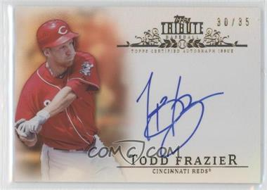 2013 Topps Tribute - Certified Autograph Issue - Sepia [Autographed] #TA-TF2 - Todd Frazier /35