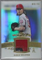 Jered Weaver /24