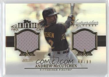 2013 Topps Tribute - Superstar Swatches Relics #SS-AM - Andrew McCutchen /99
