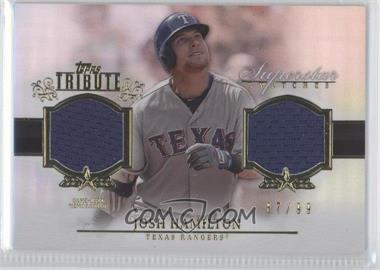 2013 Topps Tribute - Superstar Swatches Relics #SS-JH - Josh Hamilton /99