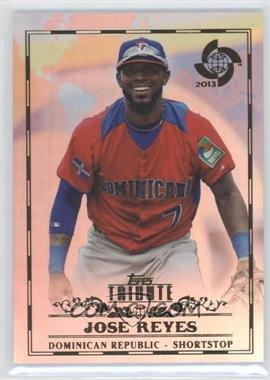2013 Topps Tribute WBC - [Base] #30 - Jose Reyes