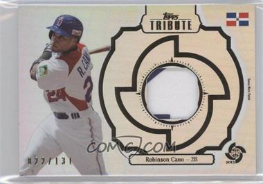2013 Topps Tribute WBC - Prime Patches #WPP-RC - Robinson Cano /131