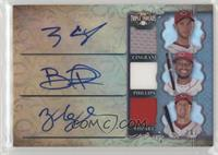 Tony Cingrani, Brandon Phillips, Zack Cozart /36