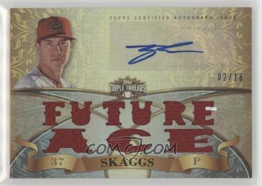2013 Topps Triple Threads - Autograph Relics #TTAR-TS1 - Tyler Skaggs /18
