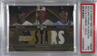 Jean Segura, Manny Machado, Nick Franklin [PSA 7 NM] #/9