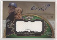 Wily Peralta [EX to NM] #/50