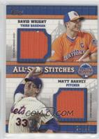 David Wright, Matt Harvey /25