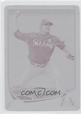 2013 Topps Update Series - [Base] - Printing Plate Magenta #US3 - Chad Qualls /1