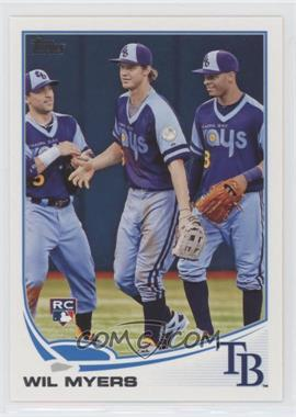 2013 Topps Update Series - [Base] #US200.2 - Wil Myers (In Outfield)