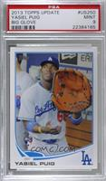Yasiel Puig (Big Glove) [PSA 9 MINT]